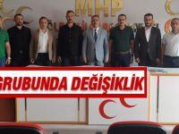 MHP meclisinde değişiklik
