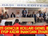 AK Parti Gençlik Kolları Genel Başkanı Eyyüp Kadir İNAN Gölbaşı'na geldi