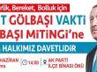 AK Parti Gölbaşı'nda miting yapacak